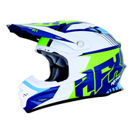 Motokrosová přilba AFX Racing FX21 New 2018. Blue/Green/White