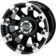 Alu disk na čtyřkolku Moose Utility 393X Black