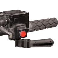 Prodloužení palce plynové páčky na čtyřkolce. Made in USA