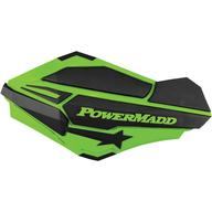Chrániče rukou PowerMadd Sentinel (Černá/Zelená)
