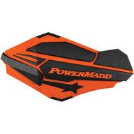 Chrániče rukou PowerMadd Sentinel (Černá/Oranžová)