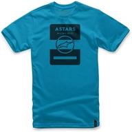 Tričko s krátkým rukávem Alpinestar KAR Turquoise