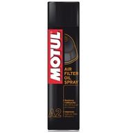 Olej na vzduchové filtry ve spreji Motul A2. 0,4Ltr.