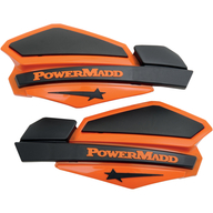 Chrániče rukou PowerMadd Star (Černá/Oranžová)