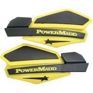 Chrániče rukou PowerMadd Star (Černá/Žlutá)