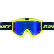 Dětské motokrosové brýle Kenny Track 19 Blue/Neon Yellow