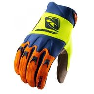 Dětské rukavice Kenny Track 21 - Oranžová / Modrá / Neonově Žlutá