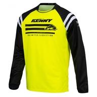 Dětský dres Kenny Track Raw 21 - Neonově Žlutá