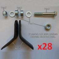 Náhradní set nožů pro mulčovače IB