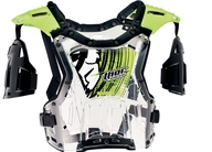 Dětský chránič těla Thor Quadrant Deflector Flo Green. Pro váhu dítěte 18-27kg