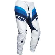 Dětské kalhoty Thor Pulse Racer - Bílá/Modrá/Černá
