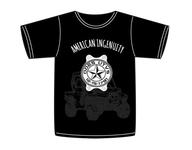 Tričko s krátkým rukávem Odes UTVS  American Ingenuity - Black