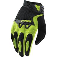 Značkové dětské rukavice na čtyřkolku, nebo motokros. Thor Spectrum Green