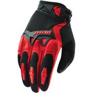 Dětské rukavice na čtyřkolku a motokros. Thor Spectrum Red. Velikost: XXS