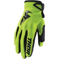 Dětské rukavice Thor Sector - Zelená