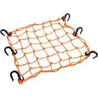 Síťka na připevnění nákladu k nosiči čtyřkolky (oranžová)