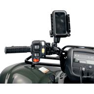 Vodotěsné pouzdro na telefon, nebo navigaci pro montáž na řidítka čtyřkolky. 61x 117x 28mm