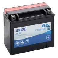 Baterie do čtyřkolky, nebo motocyklu EXIDE YTX20H-BS (12V 18Ah) (plus v levo)