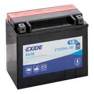 Baterie do čtyřkolky, EXIDE YTX20HL-BS (12V 18Ah) (plus v pravo)