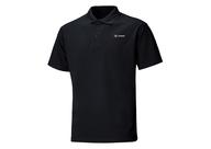 Tričko Goes s límečkem-černé