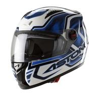 Motocyklová integrální přilba ASTONE GT Burning. White-Blue