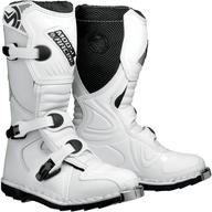 Kvalitní dětské boty na čtyřkolku a motokros. Moose racing USA. M1 Boot White