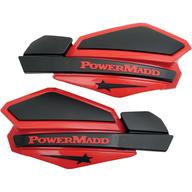 Chrániče rukou PowerMadd Star (Černá/Červená)
