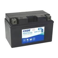 Baterie EXIDE - YTZ10-BS (12V 8,6Ah), plus vpravo