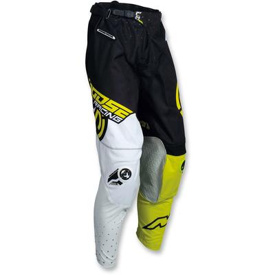 Kalhoty Moose Racing S18 M1 Black-White-Neon